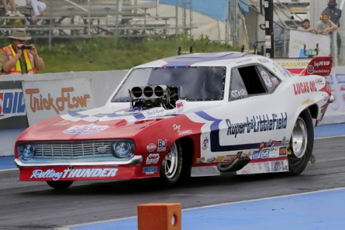 (Jason Rupert qualified #1 with a track record - 5.553 secs effort)