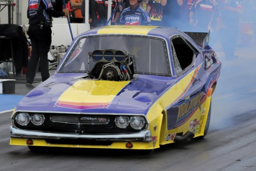 (Shawn Bowen won his 2nd IHRA race of the season at Edmonton)