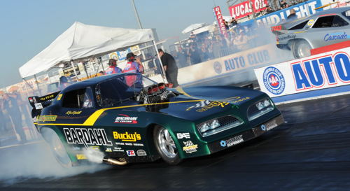 (Kris Krabill - who had already clinched the NHRA Heritage Series Championship prior to the event - was the #3 qualifier)