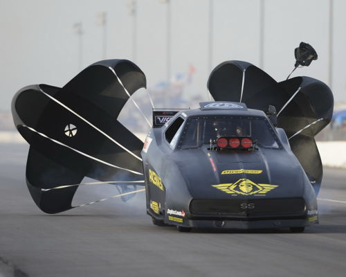 (Edmonton's Ryan Hodgson - the defending 2015 event champion - set top speed of the meet at 261.42 mph)