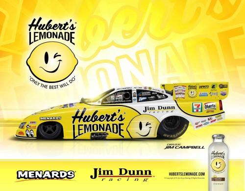 Hubert's Lemonade Funny Car 2017