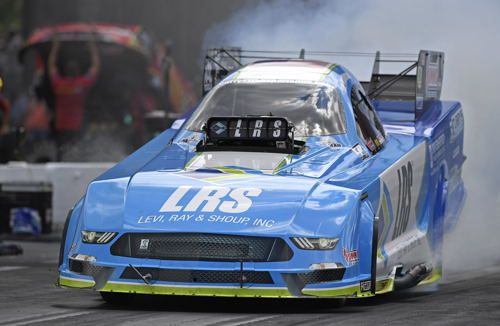 Tim Wilkeson set both low ET and top speed while qualifying #1 at Bristol