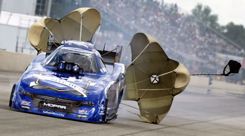 (Jack Beckman used consistency to win at NHRA Norwalk - his 26th career FC victory)
