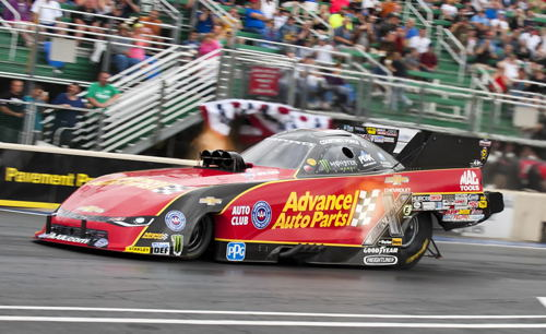 A shocking development at NHRA Norwalk - was the DNQ by Courtney Force