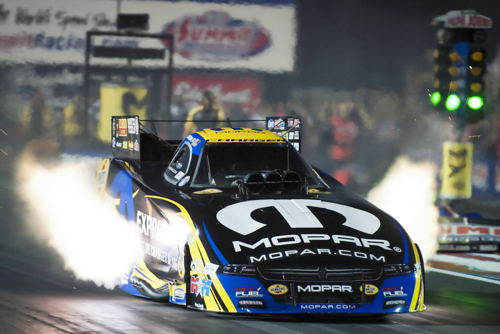 Matt Hagan was the #1 qualifier at Norwalk - hitting a track record 3,865 secs for low ET of the race.