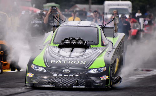 (Alexis Dejoria collected a rewarding & relieving win during the NHRA Lucas Oil Nationals)
