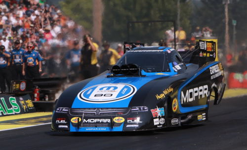 As he often does - Matt Hagan set top speed of the event - this time at 330.47 mph