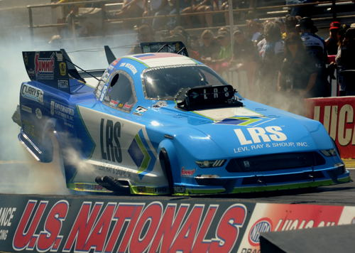 "Popular racer Tim Wilkerson went to the ""final four"" in FC with his LRS-Mustang"