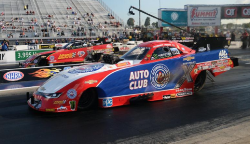 The fuel FC final at zMax was all JFR with Robert Hight edging out Courtney Force...