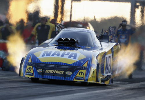 With his FC Runner-up finish - Ron Capps did maintain his overall points lead - with 2 events remaining this season.