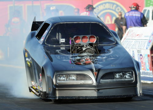 "Canadian Tim Nemeth ran well at the CHHR finale - he qualified 9th before losing to fellow Canadian Ryan Hodgson in the 2nd round racing his ""Iceman"" Firebird)"