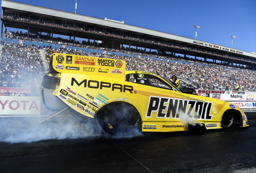 (Matt Hagan's FC win was the 26th of his great career - but also his first ever win at Las Vegas)